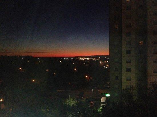 Hampton Inn NY - JFK : Morgenstimmung Nähe JFK