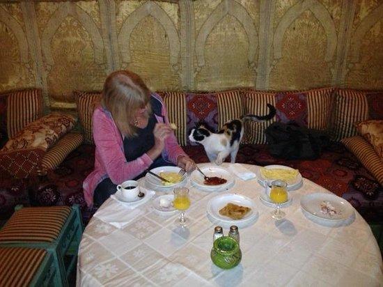 Kasbah La Fibule du Draa: Restaurant