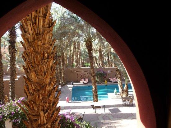 Kasbah La Fibule du Draa: Vue de la chambre