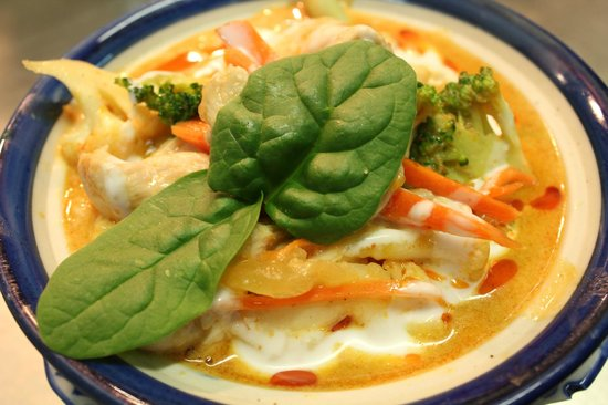Oasis Cafe: mussaman curry