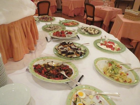 Relilax Hotel Terme Miramonti : Buffet
