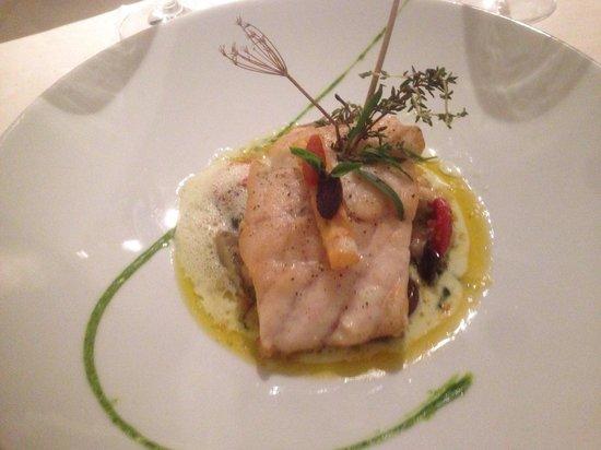 Auberge du Lion d'Or: Bass fish