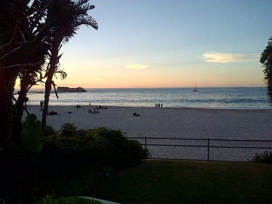 Clifton Beaches : Clifton 4th Beach  sunset