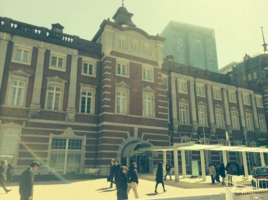 The Tokyo Station Hotel: front of hotel