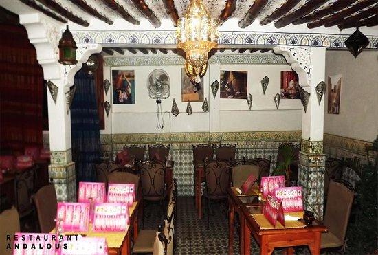Restaurant Andalous: restaurant / sallon marocaine
