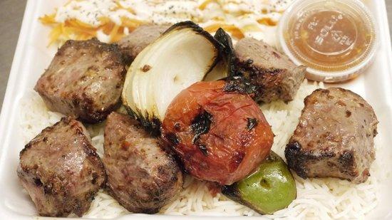 Les Delices D'Ariana: Lamb Kebab