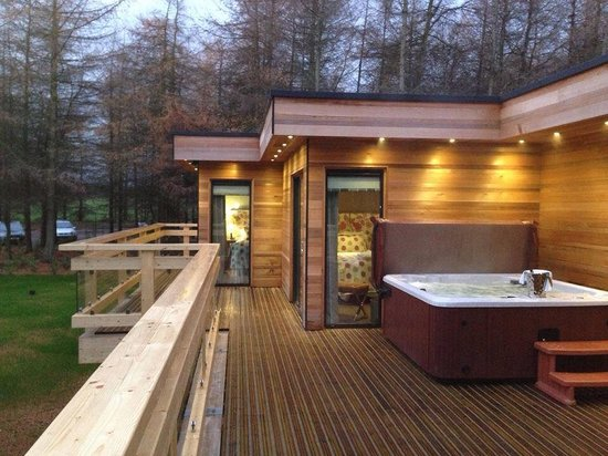 Hot Tubs On Every Decking Picture Of Studford Luxury