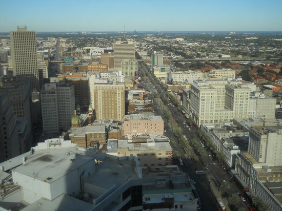 Sheraton New Orleans Hotel : view from room