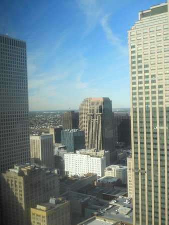 Sheraton New Orleans Hotel : view from room 2