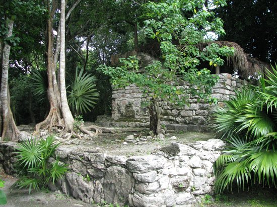 Occidental at Xcaret Destination: Ruins on site