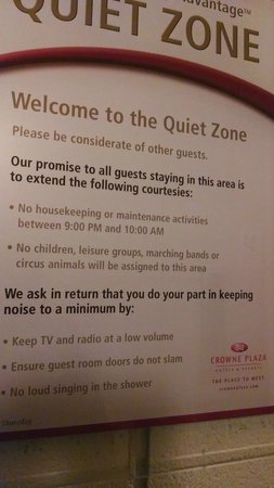 Crowne Plaza Hotel San Diego - Mission Valley: No circus animals?  I'm outta here!