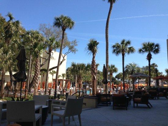 Sonesta Resort Hilton Head Island: Pool/Lounge area