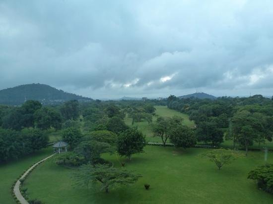 Mount Meru Hotel: view from our room
