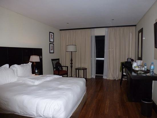 Mount Meru Hotel: our comfortable clean room