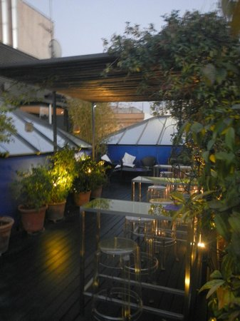 Hotel Neri Relais & Chateaux: Beautiful roof terrace