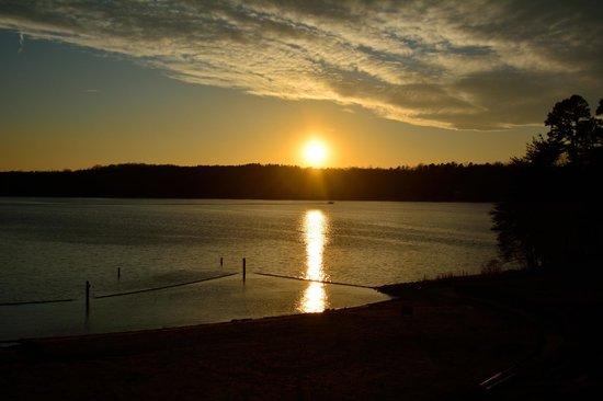 Lake Norman: Golden sunset
