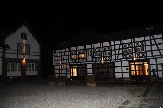 Hotel Chateau de Pourtales: Une aile du batiment annexe