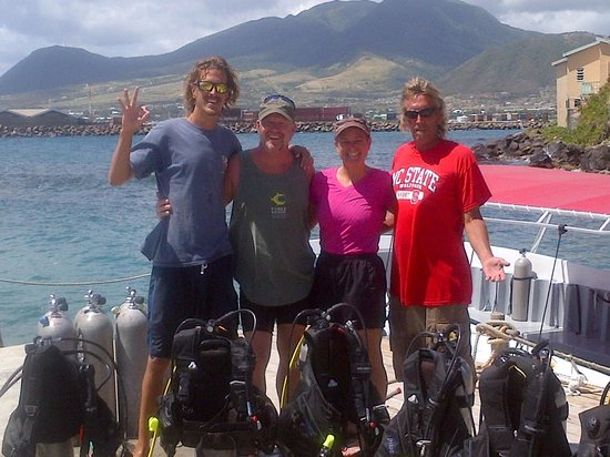 Dive St. Kitts: Thanks Danny and Captain Crabby for 4 excellent days of diving