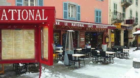 Brasserie le National: Restaurant from the outside
