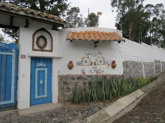 Casa de hacienda Su Merced: Entrance