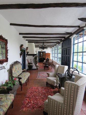 Casa de hacienda Su Merced: Lobby