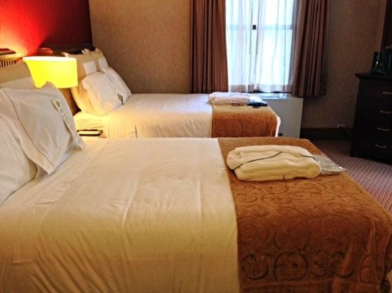 The Roosevelt Hotel: Double beds