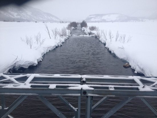 Nova Guides: The creek near the base camp