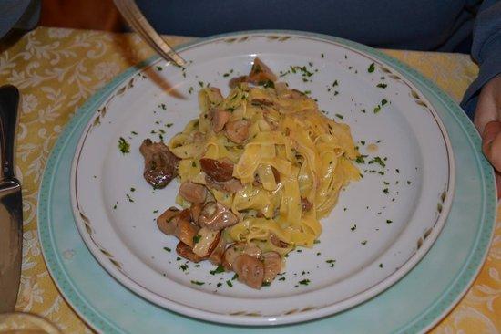 Albergo Ristorante La Meridiana: lasagne ai porcini