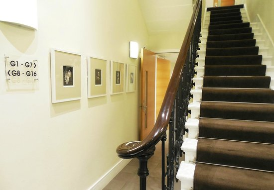 The Nadler Kensington: Stairway from the lobby to the first floor