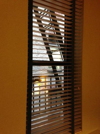"""Hotel Chandler: Our """"view""""...LOL..."""