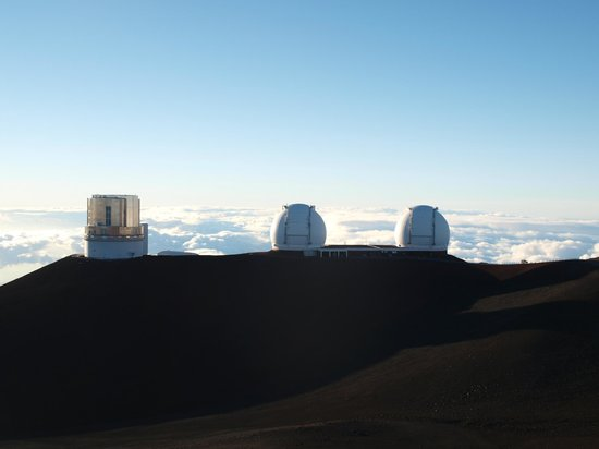 Maunakea Visitor Information Station: Telescopios de Hawaii