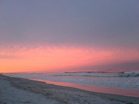 Jacksonville Beach: Winter sunset at Jax Beach