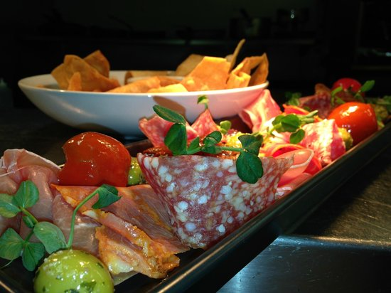 The Woolpack: charcuterie, one of our sharing platters