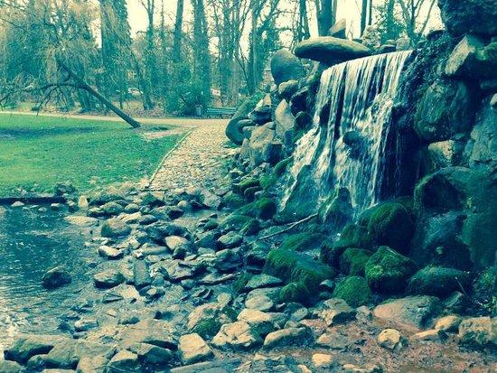 Park Sonsbeek: la piccola cascata