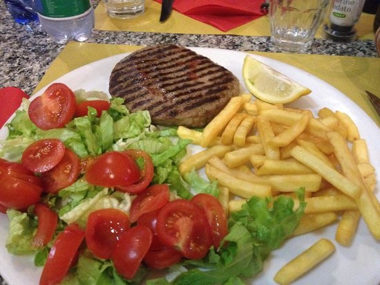 Il Picchio Rosso : Picchio Rosso, ottimo hamburger