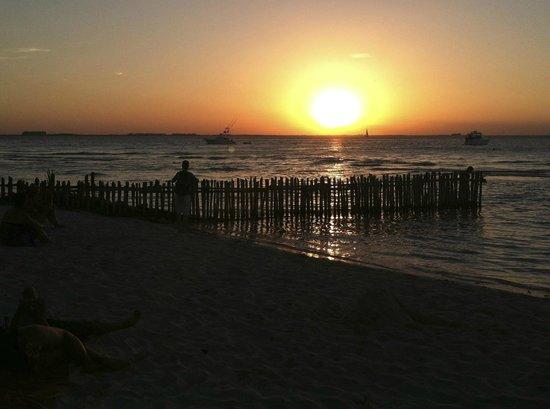 Playa Norte: sunset