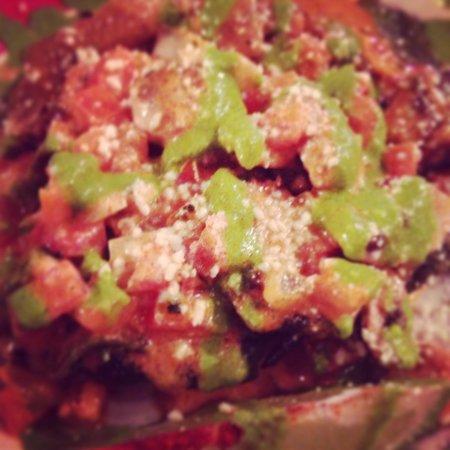 El Gato Negro Mexican Restaurant: Stuffed Poblano