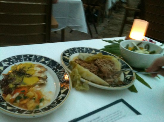 Feast At Lele : First and only course