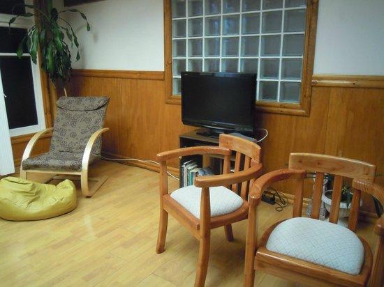 Hostal Vientos de la Patagonia : Sala de estar