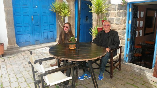 Casa San Blas Boutique: Frente ao Hotel