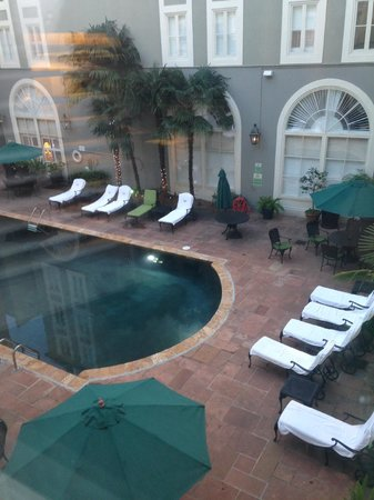 Bourbon Orleans Hotel : Pool View