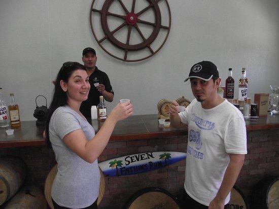 Cayman Spirits Co. Distillery: Tasting the Scotch Bonnet Vodka