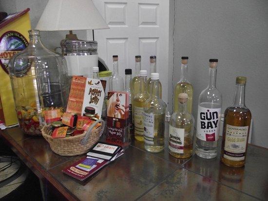 Cayman Spirits Co. Distillery: Rum varieties