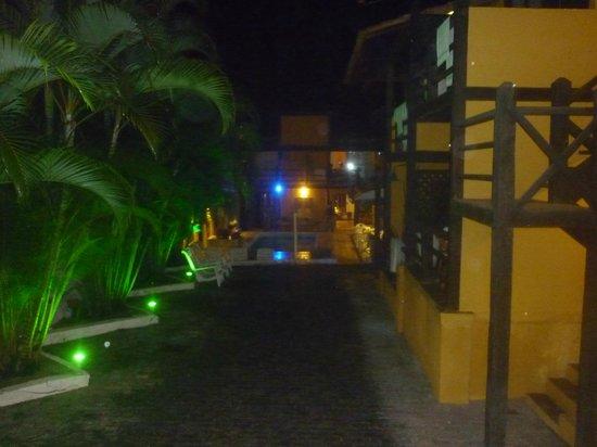 Pousada Kilandukilu: Vista del corredor desde la habitacion