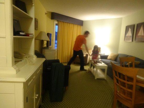 Samoset Resort On The Ocean: Livingroom