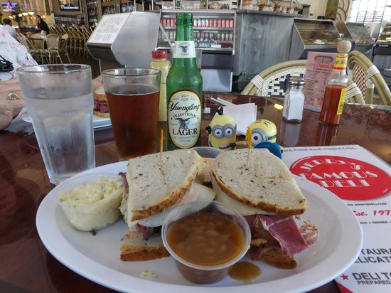 Jerry's Famous Deli : My corned beef and pastrami sandwich