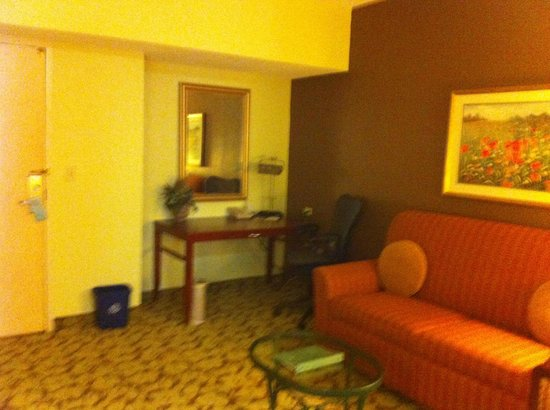 Hilton Garden Inn Atlanta North / Johns Creek: Desk in sitting area
