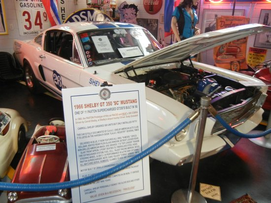 Mount Dora Museum Of Speed: Shelby Mustang