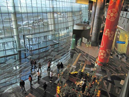 ARIA Resort & Casino : Aria Lobby From Above