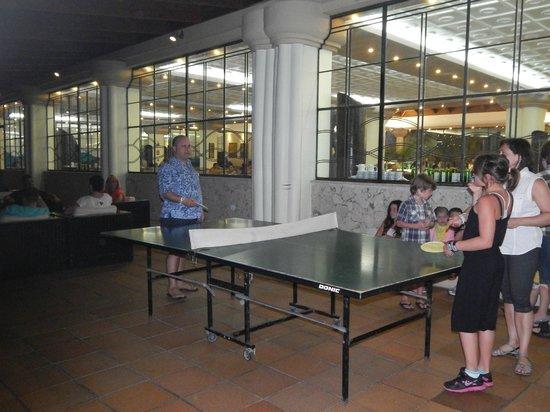 Sirenis Punta Cana Resort Casino & Aquagames : Ping-Pong